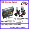 최신 Sale AC 35W H4 H4-3 9003 Hb2 비스무트 Xenon H/L Dual 6000k Slim Xenon HID Conversion Kit