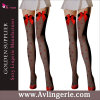 Girl doux Red et Stockings de Bowknot Women pour Uniform (WZ01-037)