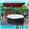 Family inflable Sex Massage Hot Tub (pH050017 Grey/Black)