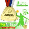 メダルベルトが付いているCustomedのターミナル手の金のマレーシアのめっき米国メダル賞