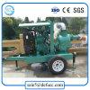 Máquina agrícola bomba de agua diesel de la basura de 6 pulgadas