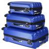 des Gepäck-3-PCS Räder Arbeitsweg-gesetzte Beutel ABS Laufkatze-des Koffer-4
