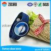 Preiswerter SilikonWristband, geprägtes Firmenzeichen