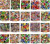 Ново! ! Набор пленки жидкостного переноса воды No A3sb20V2+ изображения гидро окуная для украшения, 20 частей