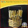 プラスチックハンドル(RYST0239C)が付いている新しいデザインステンレス鋼の食事用器具類セット