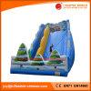 膨脹可能な城の膨脹可能な温室の世界のスライド(T4-300)