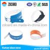 Изготовленный на заказ Wristband удостоверения личности стационарного больного, легк слезает термально Wristband печати