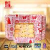 300g boterKoekjes en Koekjes 5 Vormen als Gift in Wit Tin voor de Dag van Kerstmis