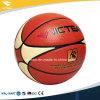 Cuoio genuino dell'unità di elaborazione di Microfiber una pallacanestro di 29.5 pollici