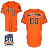 Baseball ufficiale arancione Jersey di Houston Astros