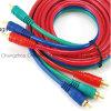 Fiches du fil 3RCA de vidéo composite - 3RCA branche le câble