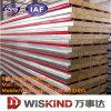 Пожаробезопасная панель утеса Wool/PU/EPS Sandwitch с ISO9001