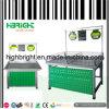 Estante del estante de visualización de la fruta y verdura del supermercado