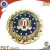 Or Plated Badge avec Custom Logo (FTBG4134P)