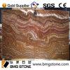 Onyx normal de tigre de pierre de matériau de construction pour les tuiles ou le revêtement de mur