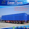 De gebruikte tri-As Cargo Box/Van Semi Trailer van de Nuttige lading 50tons