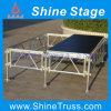 Die Aluminiumstufe, einfach bauen Stufe, Beleuchtung-Stufe zusammen