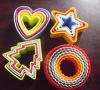 Резец печенья оптового высокого качества популярный пластичный/пластичный комплект резца печенья