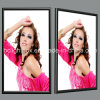 CER und RoHS Aluminum Poster Frame Super Bright LED Slim Light Box A3