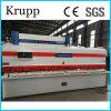 Máquina para corte de metales de la guillotina de la hoja hidráulica del CNC (8X3200)