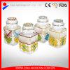 Große Großhandelsnahrungsmittelglasglas mit Qualität