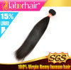 7A Peruvian Virgin Straight Human Hair, Unprocessed 100% Hair em 14 ''