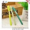 Ручка геля кактуса зеленого шаржа милая