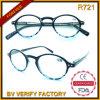 R721 clásicos del diseño lindo baratos Ronda Marcos damas estilo gafas de lectura Fabricados en Wenzhou