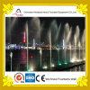 Fontana di musica del fiume con gli indicatori luminosi del LED