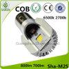 LED 기관자전차 헤드라이트 6500k 백색 M2s Ba20d