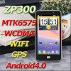 Mtk6575 4.5インチのZopo Zp300のアンドロイド4.0のスマートな電話3G WCDMA容量性スクリーンWiFi GPS
