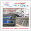 Decking de WPC effectuant la machine