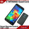 Smartphone à télécommande intelligent de la fonction S5 d'identification d'empreinte digitale