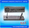 Fabricante de la escritura de la etiqueta de la aleación del cinc del metal (LZY-Label-004)
