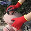 Латекса полиэфира Nmsafety 10g перчатка красного покрытая трудная
