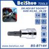 el 1/2  1/4  3/8  socket de los dígitos binarios Hex para la herramienta de la reparación