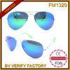 FM1329 il più in ritardo ha progettato gli occhiali da sole luminosi del metallo di colore manifatturieri in Cina