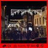 Luz de rua de suspensão ao ar livre do motivo da decoração do Natal do diodo emissor de luz