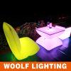 Silla al aire libre de interior del sofá del resplandor LED del jardín