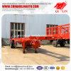 Vrachtwagen van het Slepen van de Container van het Frame van de tri-As van de lage Prijs 30FT de Skeletachtige Flatbed