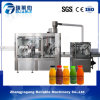 Bebida caliente de la energía de la botella automática llena del animal doméstico/máquina de rellenar condimentada del agua