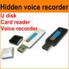 4GB Records 200 Hours Hidden Voice Recorder