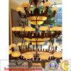 Het witte Licht van de Jade voor de Zaal of de Binnenhuisarchitectuur van het Hotel (sY-Decoratie)