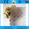 3-8mm Clear Rh-4 Acid Etched Patterned Glass com CE & ISO9001