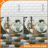Azulejo de cerámica de la pared del color del modelo brillante del ladrillo (25400317)