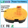batería eléctrica de la herramienta de 2.0ah NiMH para Dewalt DC9096