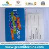 Étiquette polychrome faite sur commande de bagage de qualité de PVC d'impression