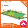 Спортивная площадка пригодности деревянного тренажера деревянная