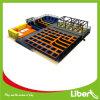 Équipement de parc de jambières de 800 m² Trampoline commercial à vendre