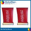 Mini en aluminium de vente chauds de Changhaï Globalsign enroulent la bannière (GMRB-A3)